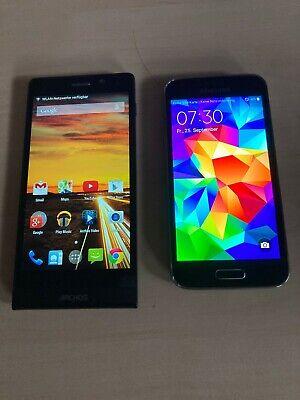 Smartphone Archos und Samsung Galaxy S 5 mini