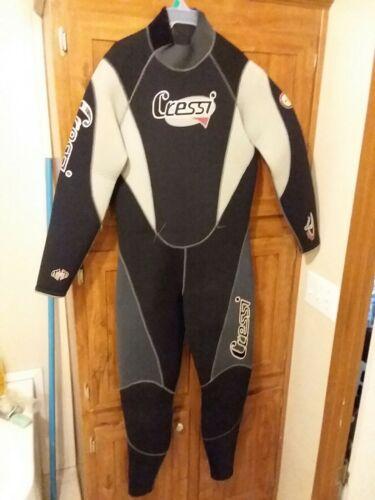Cressi semi-dry wetsuit, 7mm, 2XL