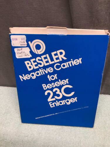 Beseler #8070 6x7 Negative Carrier for the 23C Series Enlargers
