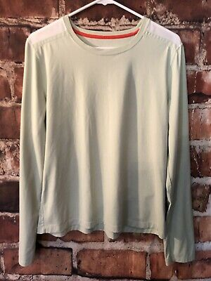 Reebok Athletic Pullover Top Light Green White Mesh Shoulder Size XL Athletic Mesh Pullover