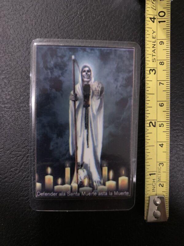 Santa Muerte  Oracion -Holy Death - Prayer Card - Laminated