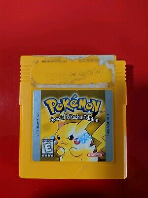 Pokemon Yellow Version Special Pikachu Edition (Game Boy) GBC Gameboy Tested