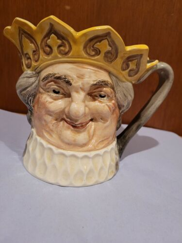 """D6014 Old King Cole Musical Character Jug Large 6"""" Collectors Condition"""