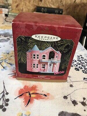 1999 Hallmark Keepsake Barbie Dream House Ornament Dollhouse