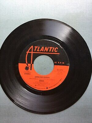 "45 rpm records ABBA "" Dancing Queen"""