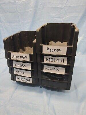 Akro-mils Heavy Duty Bins 30796 Lot Of 9
