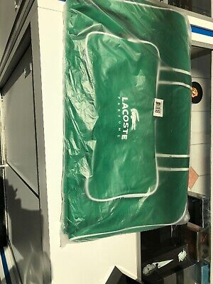 Used, Lacoste Mens Parfums Green Travel Bag Brand New With Tags for sale  Shipping to Canada