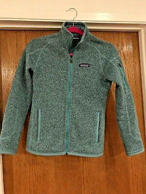 Patagonia Womens Better Sweater Fleece Jacket XXS Mint