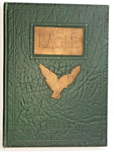 Vintage 1929 THE EAGLE Tennessee Polytechnic Institute annual