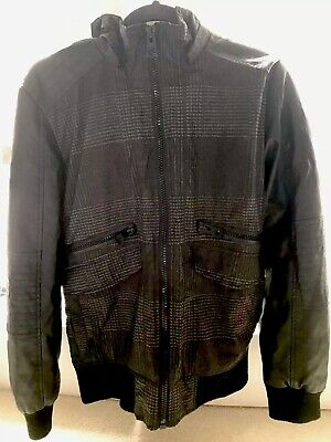 High Quality Guess Leather Jacket Men Size M