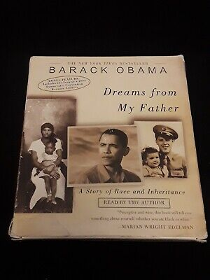 Dreams from My Father Audio Book CD Set Barack Obama 6 CDs - Read by (Barack Obama Dreams From My Father Audiobook)