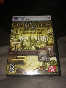 Civilization IV Gold edition