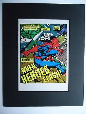 1995 nn SUPERMAN VS. THE AMAZING SPIDER-MAN TREASURY LUTHOR Pg 46 PRODUCTION ART