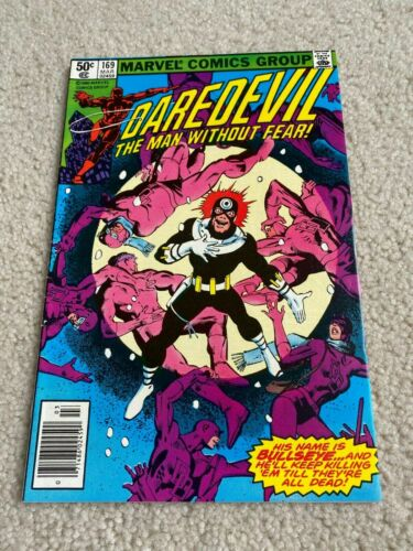 Daredevil #169, VF 8.0, 2nd Appearance Elektra; Frank Miller Story/Art