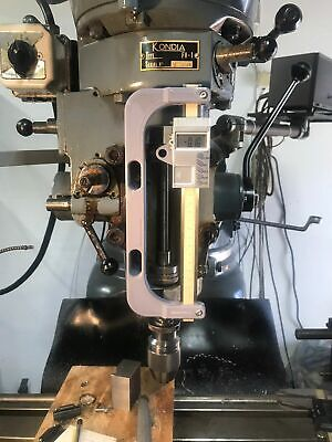 Bracket For Vertical Digital Readout Quill Mill Kondia Sharpe Bridgeport Dro