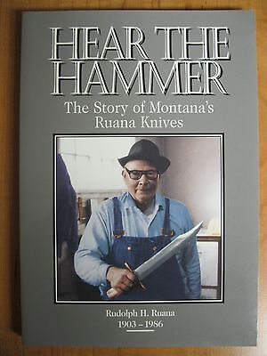 Book on Ruana Knives, first Ed 1995