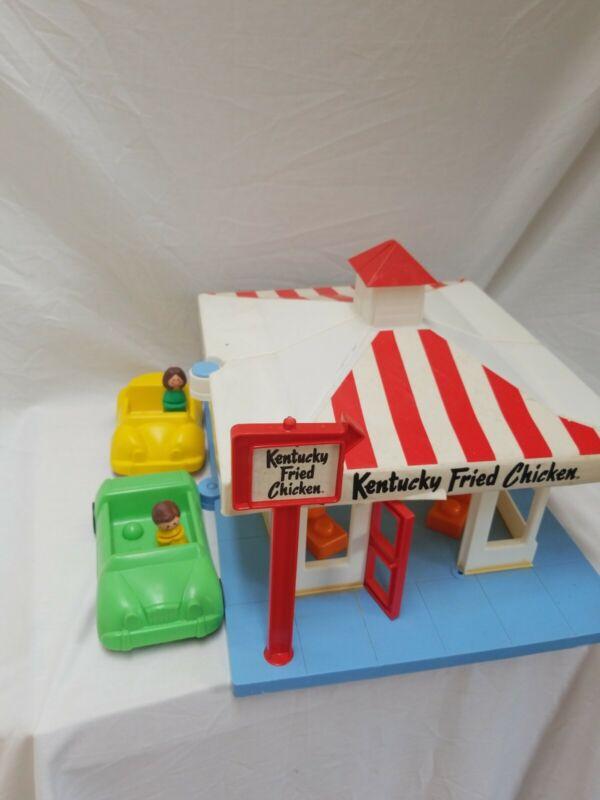 Vintage 1970's Kentucky Fried Chicken Toy Restaurant