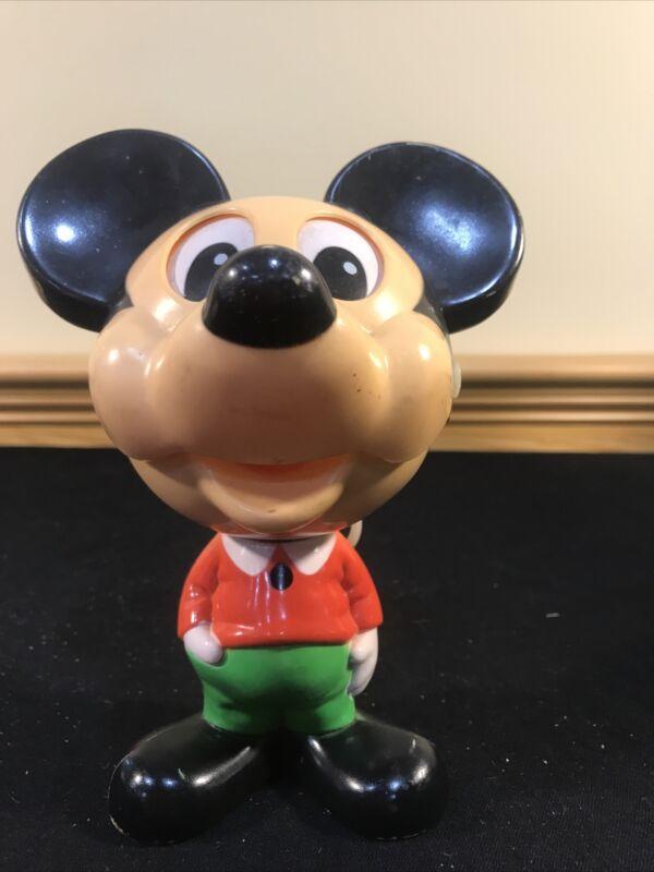 Vtg 1976 Mattel Mickey Mouse Walt Disney Chatter Chum Talk Pull String Working