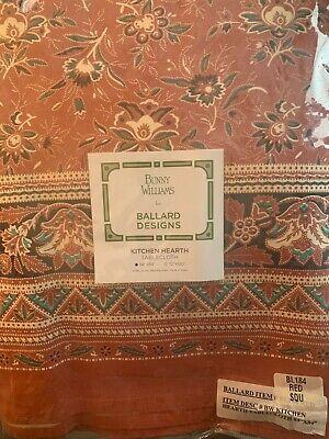 Ballard Designs Bunny Williams Kitchen Hearth Tablecloth 84