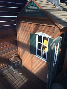 Timber kids cubby house. Forresters Beach Gosford Area Preview