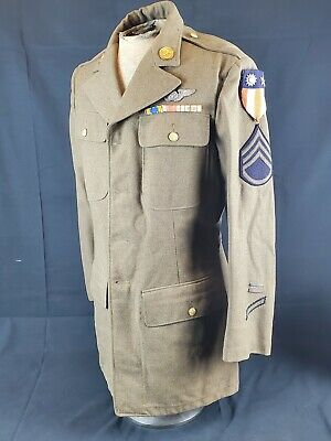 WW2 Army Air Corp CBI Theater Made Patches Named Jacket