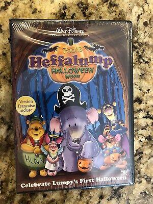 Winnie The Pooh Halloween Movies (Winnie The Pooh's  Heffalump Halloween Movie (2005 DVD)  NEW! Free Shipping!)