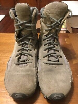 Tactical Research Sage Green Boots, TR606, Size 9, Sage Green Tactical Boot