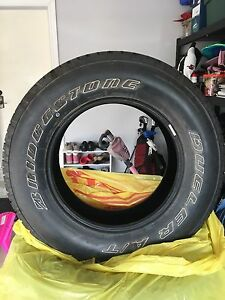 P255 /70R18. Used Bridgestone dueler tires