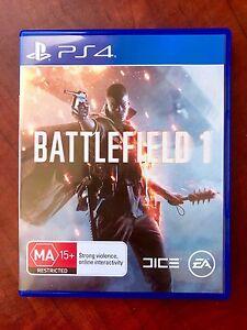 Ps4 Battlefield 1 + UNUSED DLC 'AS NEW' Condition $50 or Swap/Trade Preston Darebin Area Preview