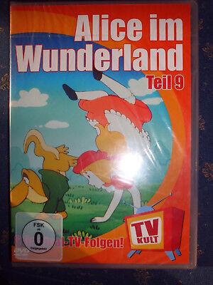 Wunderland Teil (ALICE IM WUNDERLAND TEIL 9 6 original TV-Folgen Zeichentrick FSK0 DVD RAR+NEU!!!)