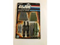 Joe Vehicle Gear Accessory Pack #1 Hasbro MISP MIP MOC MOSC Vintage G.I