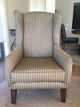 Wingback Armchair in Wool Longueville Lane Cove Area Preview