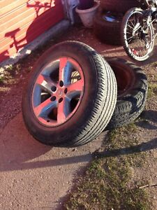 """20"""" dodge tires and rims"""