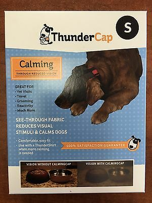 New ThunderCap Calming Cap Dog Anxiety Stress Reducer Size Small