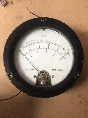 Simpson Model 18rt Ohm Meter Spec S08447 Dc And Ac