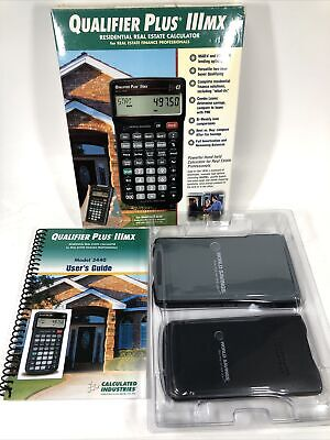 Calculated Industries 3440 Qualifier Plus Iiimx Real Estate Pro Calculator - New
