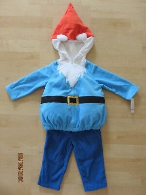 Carters Garden Gnome Halloween Costume Infant 18 months New 3 Piece Cute