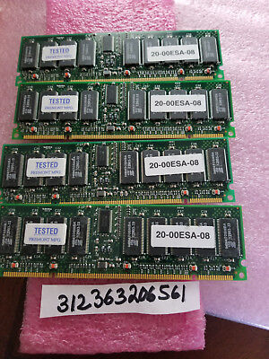(4x) 512MB 2GB DEC HP 20-00ESA-08 100MHz CL2 DIMM Alphaserver Memory MS610-EA