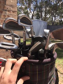 Golf set diawa set and bag with 100+ golf balls