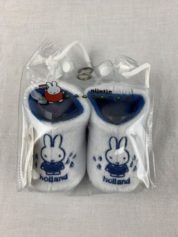Nijntje Miffy Baby Booties Holland Bunny NWT