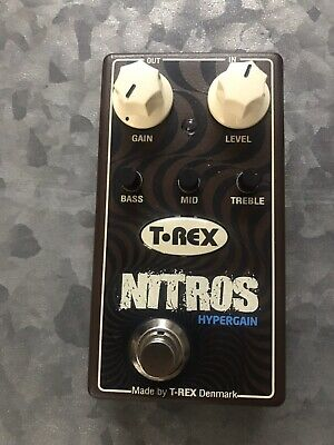 T-Rex Nitros High-Gain Distortion Pedal Used