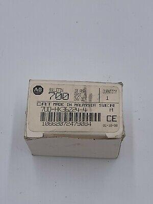 Allen Bradley 700-hk36z24-4 Ice Cube Relay 10 Amp 24 Vdc Spdt Slim Line 5 Blade