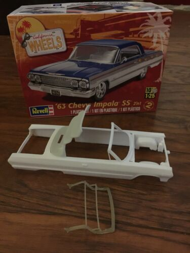 1:25 Revell 1963 Impala Resin Convertible Half Up-top.  Mode