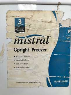 MISTRAL 90 LITRE UPRIGHT FREEZER