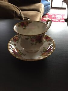Country Rose Royal Albert Bone China Set
