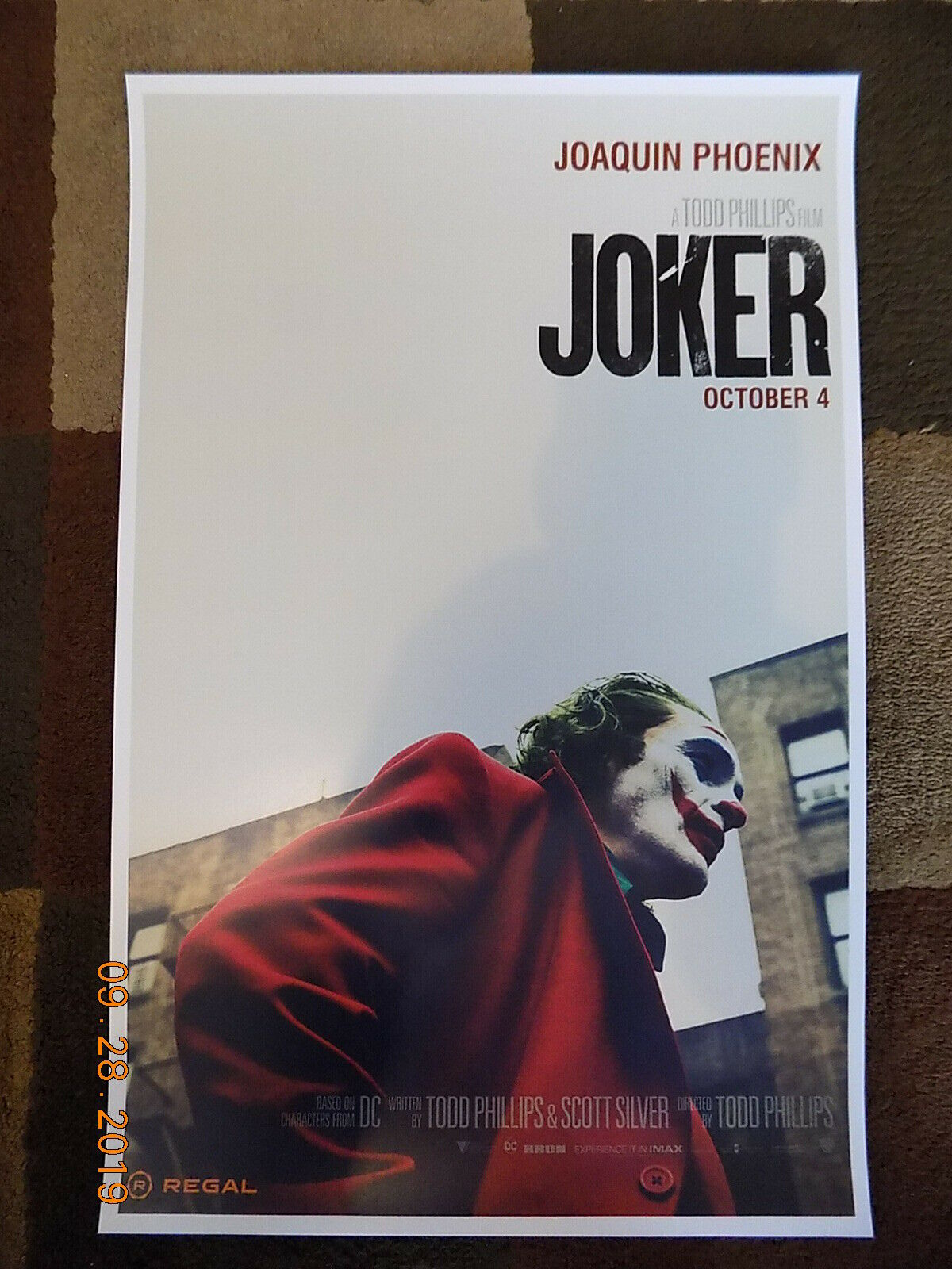 "Joker  ( 11"" x 17"" ) Movie Collector's Poster Print (T4) B2G1F"