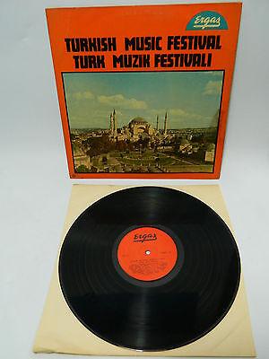 LP Karisik Turk sanat muzigi - Turkish Music Festival ERGAS MLP 10001