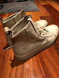 John Varvatos Leather Sneakers US Size 10