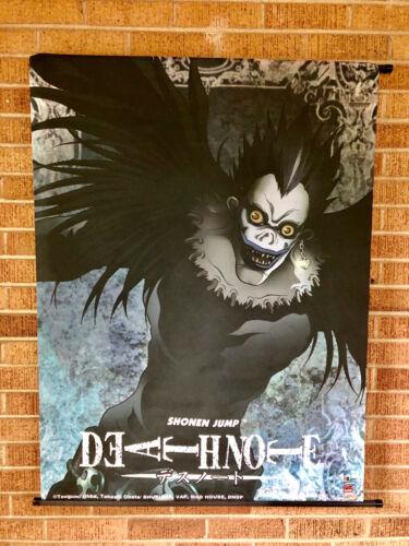 Shonen Jump Death Note Anime Canvas Wall Scroll VIZ Media by Ohba & Obata 31x43