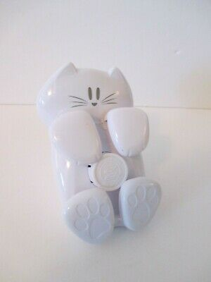 3m Kitty Cat White 330 Cat-330 Pop-up Post-it Note Dispenser - Euc